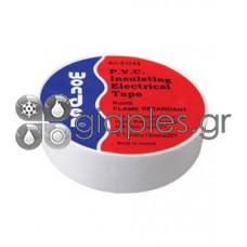 Μονωτική Ταινία Wonder (0,13x19mm) 18μ PVC (λευκό)
