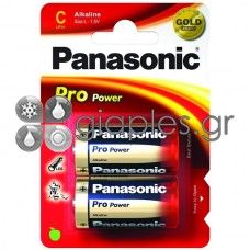 Μπαταρία PANASONIC GOLD C LR14/2BP