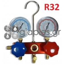 Βάση (κάσα) Μανομέτρων Διπλή Πλήρης CT136G (R32/410)