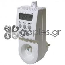 Θερμοστάτης Πρίζας Ψηφιακός 3500w