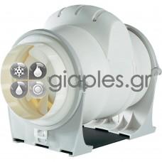 Εξαεριστήρας Γραμμής Πλαστικός (in line motor) Φ100/270