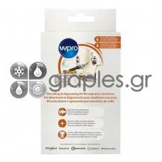 Καθαριστικό Αλάτων Καφετιέρας Espresso  Wpro KMC800