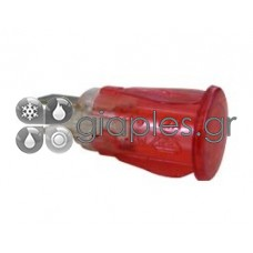 Λυχνία Ενδεικτική φ12mm Πρεσαριστή +νέον (κόκκινο)